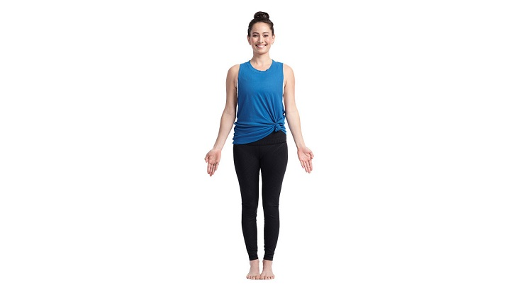 1)Mountain Pose – Tadasana