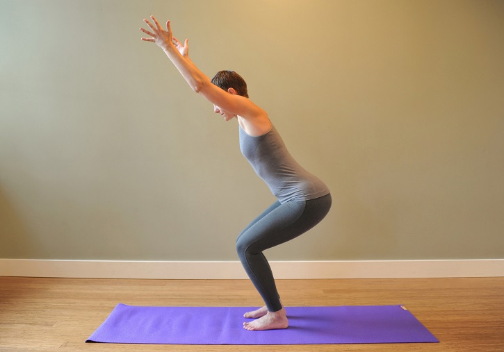 Chair Pose - Utkatasana